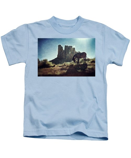Greetings From The Wild West Kids T-Shirt