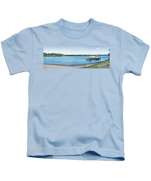 Gull Lake Panorama Kids T-Shirt