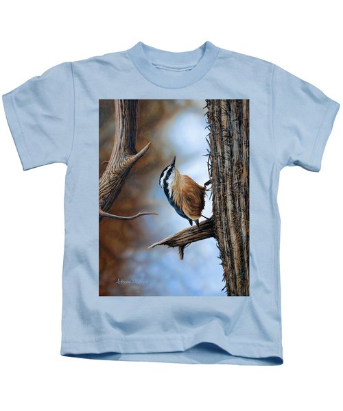 Hangin Out - Nuthatch Kids T-Shirt