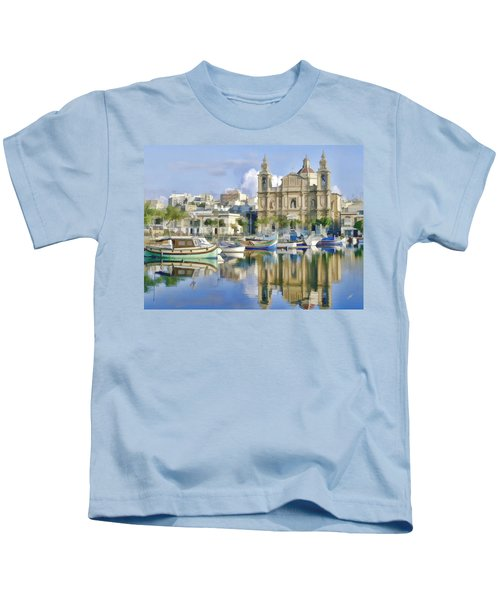 Harborside Msida Malta Kids T-Shirt