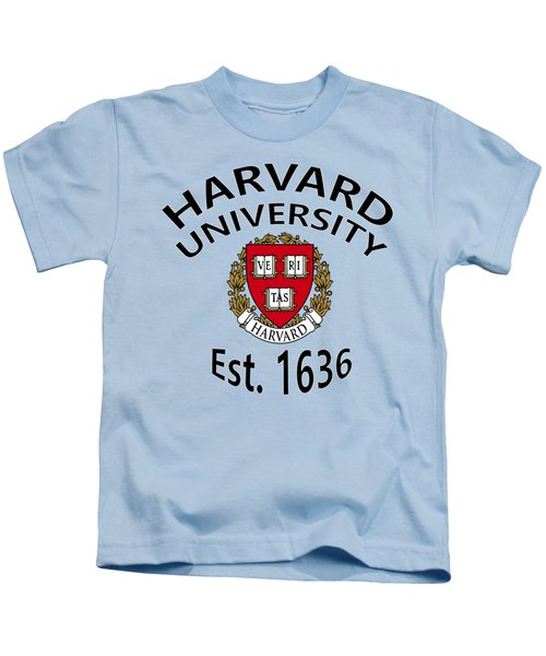 Harvard University Est 1636 Kids T-Shirt