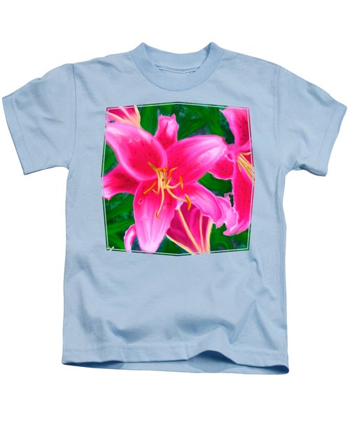 Hawaiian Flowers Kids T-Shirt
