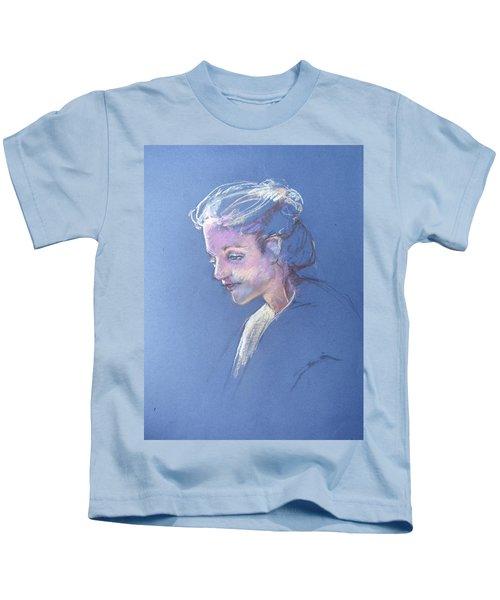 Head Study 6 Kids T-Shirt