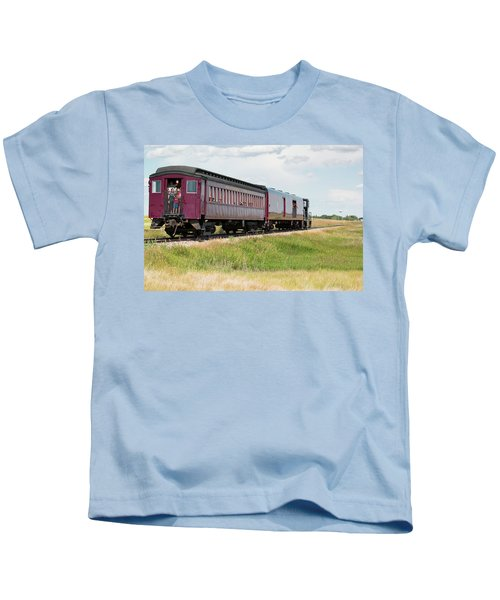 Heading To Town Kids T-Shirt