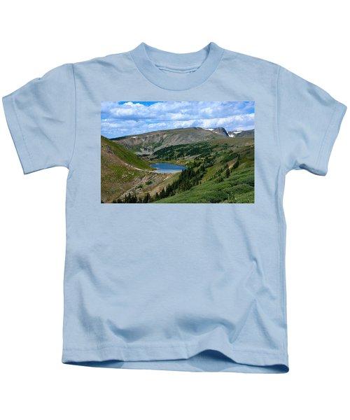 Heart Lake In The Indian Peaks Wilderness Kids T-Shirt