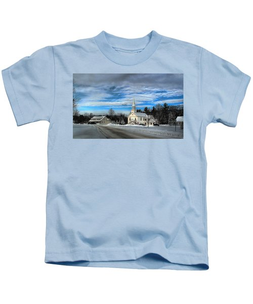 New Snow On Hebron Common Kids T-Shirt