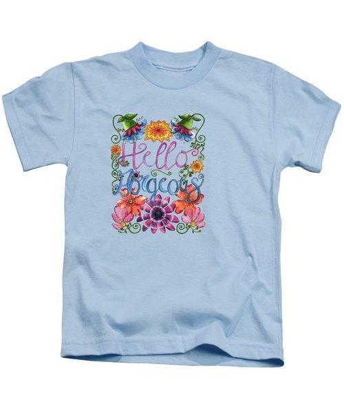 Hello Gorgeous Plus Kids T-Shirt
