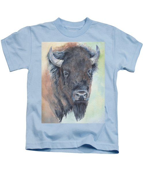 Here's Looking At You - Bison Kids T-Shirt