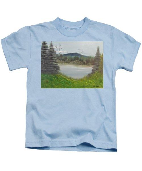 Hidden Pond  Kids T-Shirt