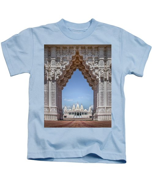 Hindu Architecture Kids T-Shirt