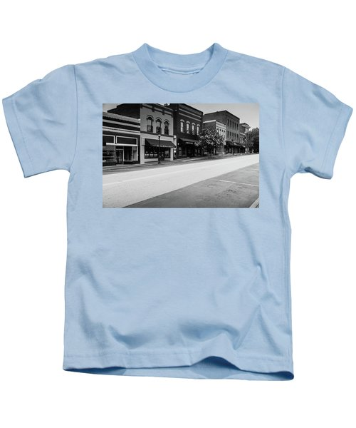 Historic Buford Downtown Area Kids T-Shirt