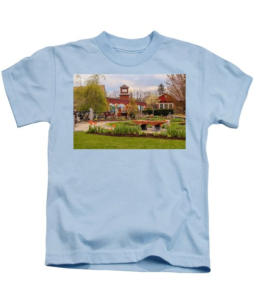 Historic Rail Station, Manhan Rail Trail Easthampton Kids T-Shirt
