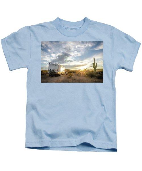 Home In The Desert Kids T-Shirt