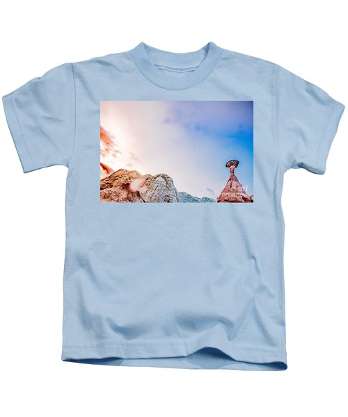 Hoo Doos At Sunset Kids T-Shirt