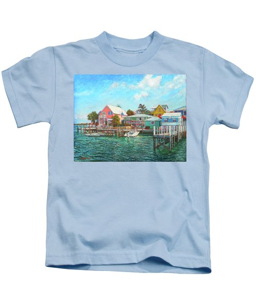 Hope Town By The Sea Kids T-Shirt