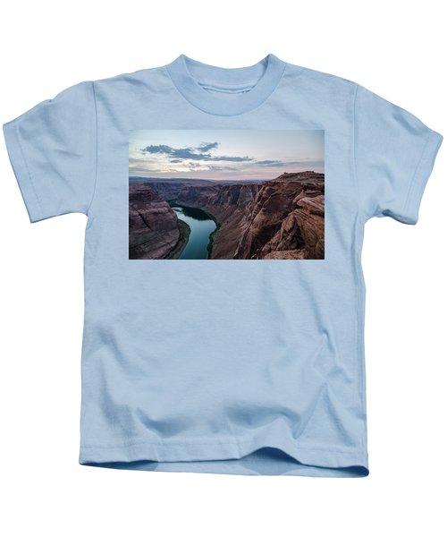 Horseshoe Bend No. 2 Kids T-Shirt