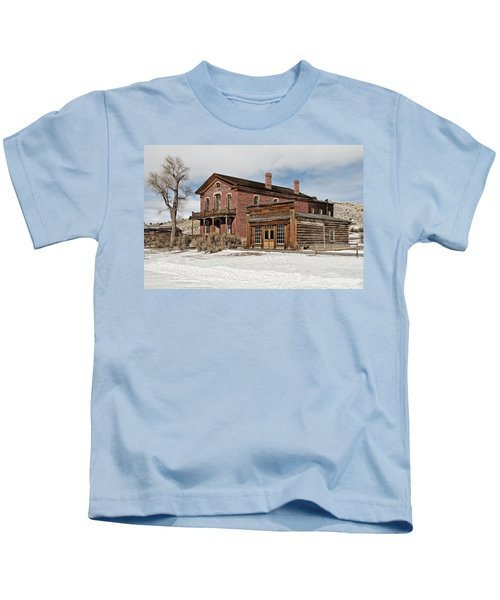 Hotel Meade And Saloon Kids T-Shirt