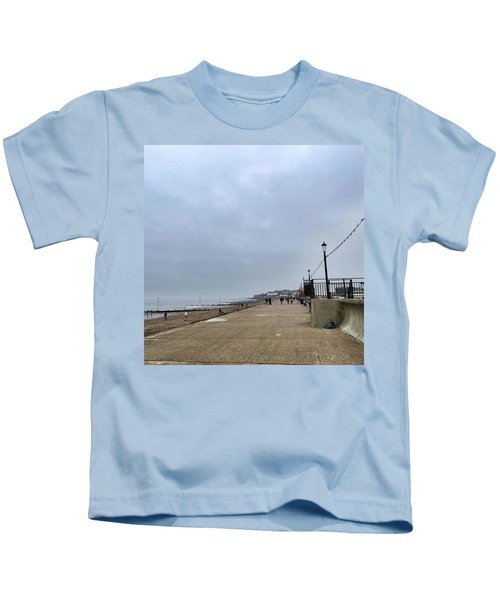 Hunstanton At 4pm Yesterday As The Kids T-Shirt