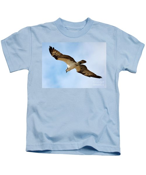 Hunter Osprey Kids T-Shirt by Carol Groenen
