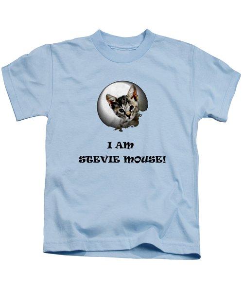 I Am Stevie Mouse Kids T-Shirt