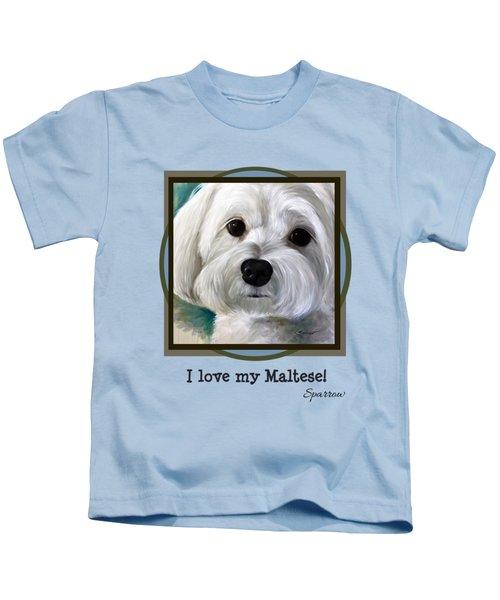 I Love My Maltese Kids T-Shirt