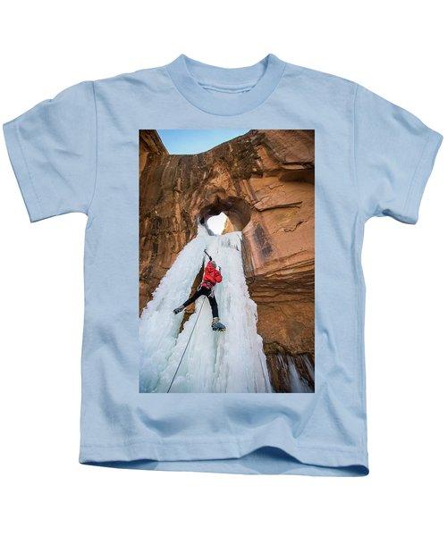 Ice Climber Kids T-Shirt