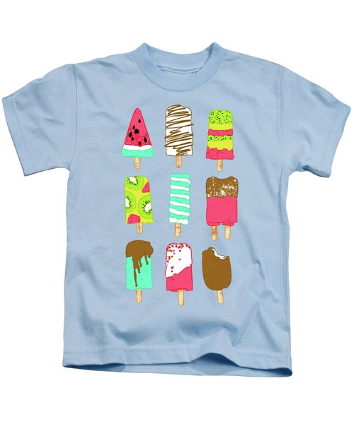 Ice Cream Time Kids T-Shirt