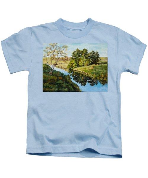 Illinois Countryside  Kids T-Shirt
