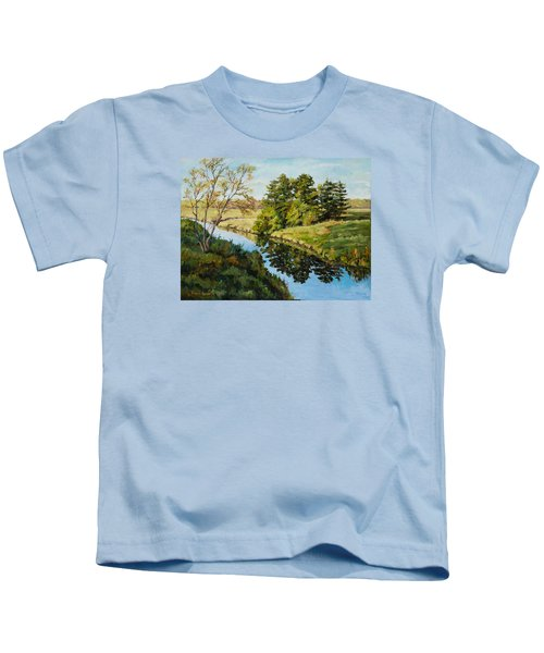 Illinois Countryside  Kids T-Shirt