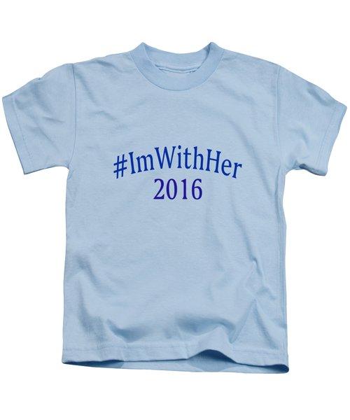 Imwithher Kids T-Shirt by Bill Owen