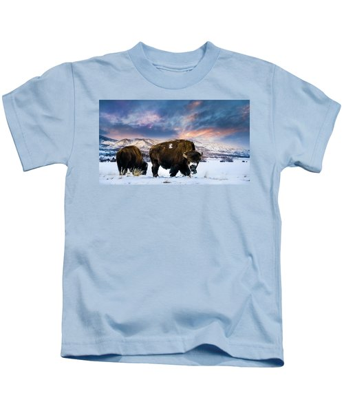 In The Grips Of Winter Kids T-Shirt