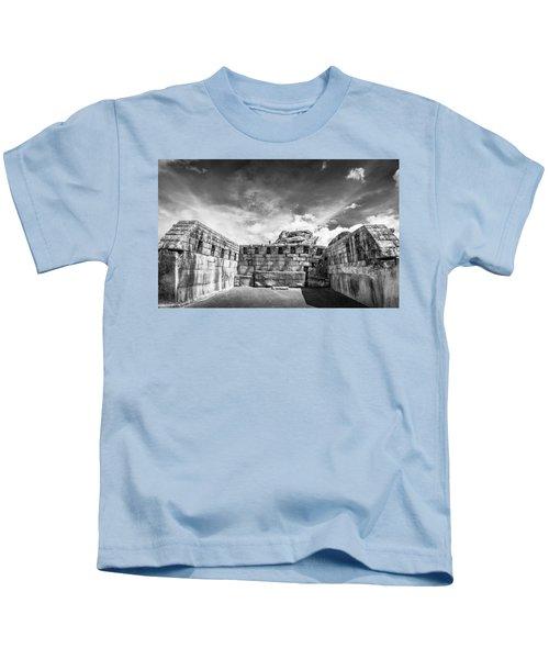 Inca Walls. Kids T-Shirt