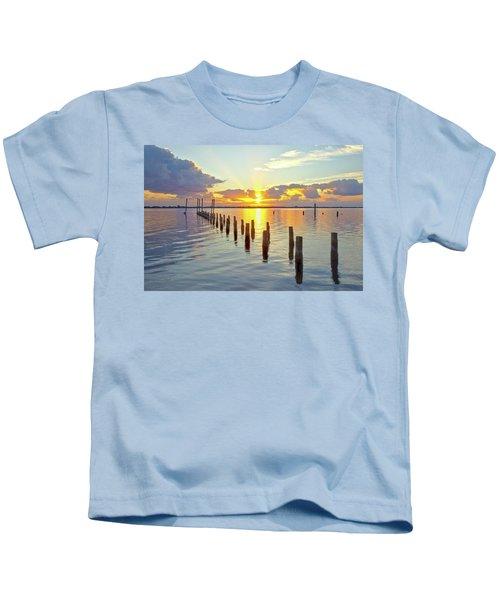Indian River Sunrise Kids T-Shirt