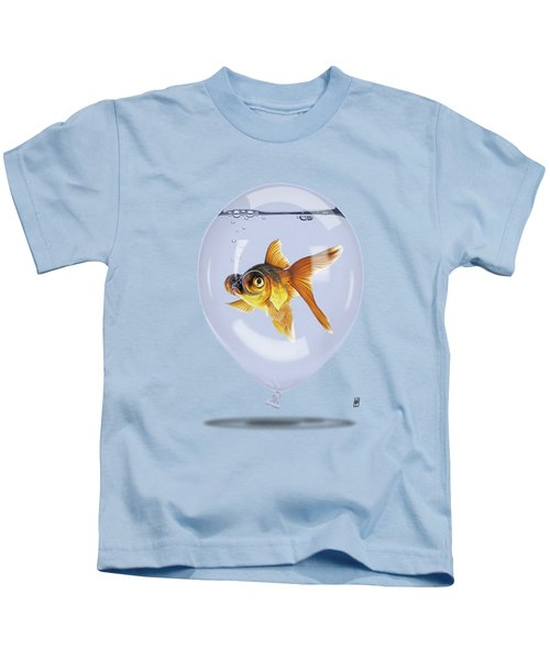 Inflated Colour Kids T-Shirt by Rob Snow