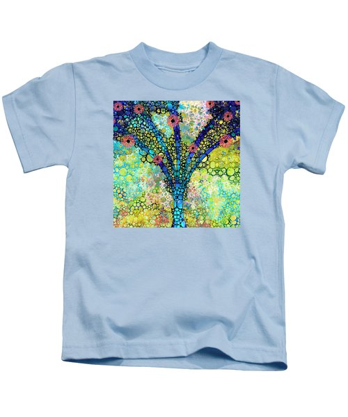 Inspirational Art - Absolute Joy - Sharon Cummings Kids T-Shirt