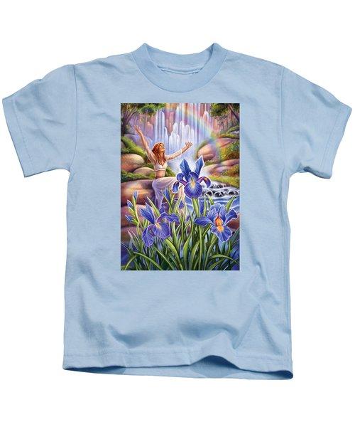 Iris - Fine Tune Kids T-Shirt