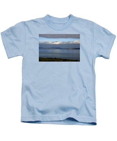 Irish Sky - Ring Of Kerry, Dingle Bay Kids T-Shirt