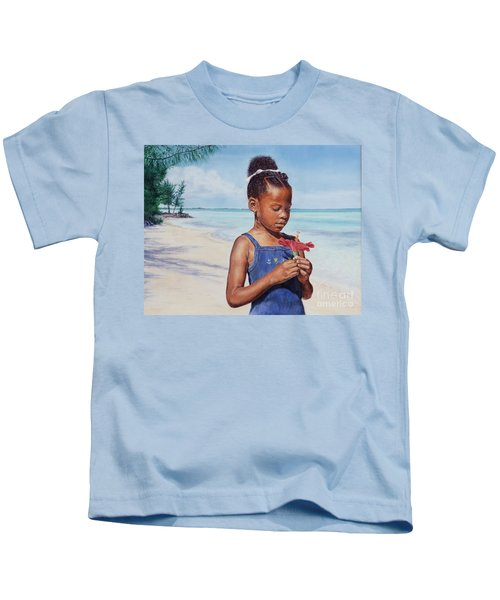 Island Flowers Kids T-Shirt