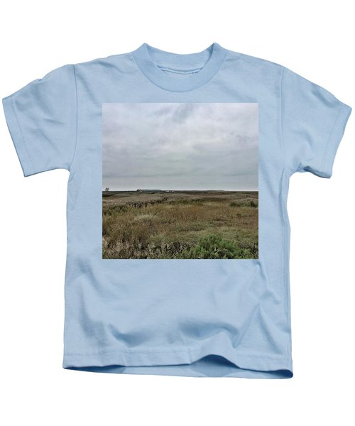 It's A Grey Day In North Norfolk Today Kids T-Shirt