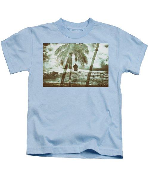 Izzy Jive And Palms Kids T-Shirt