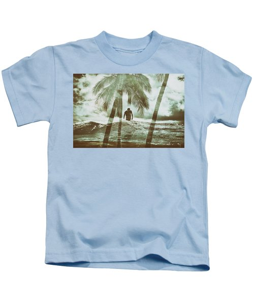 Izzy Jive And Palms Kids T-Shirt
