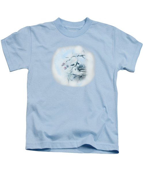 January Bluejay  Kids T-Shirt
