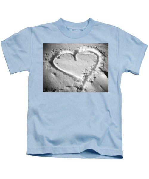 Winter Heart Kids T-Shirt
