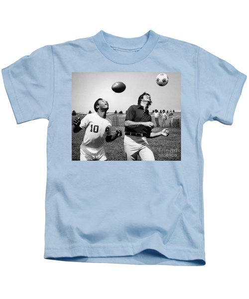 Joe Namath (1943- ) Kids T-Shirt by Granger