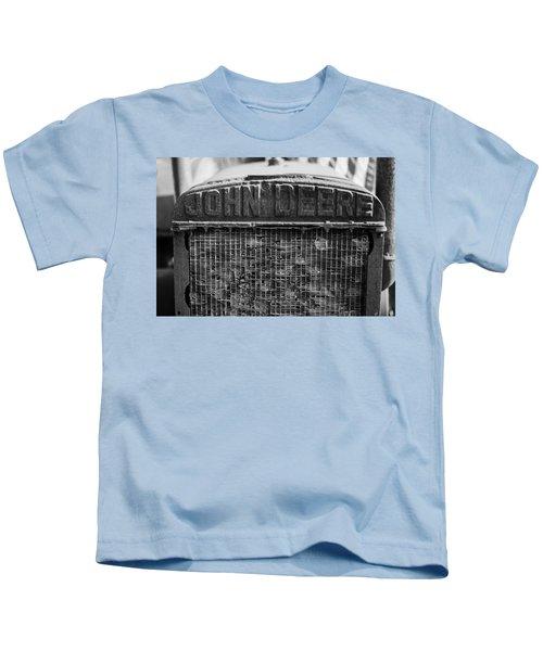 John Deere In Monochrome Kids T-Shirt
