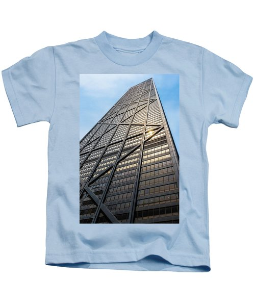 John Hancock Center Chicago Kids T-Shirt by Steve Gadomski