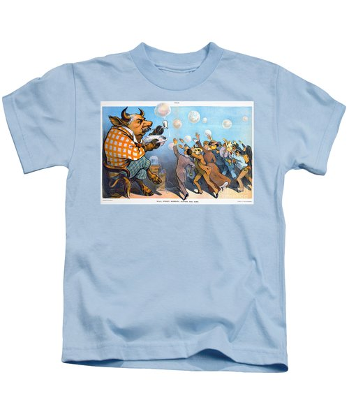 John Pierpont Morgan Kids T-Shirt by Granger