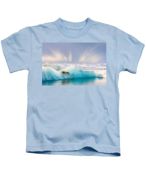 Jokulsarlon Glacier Lagoon Kids T-Shirt