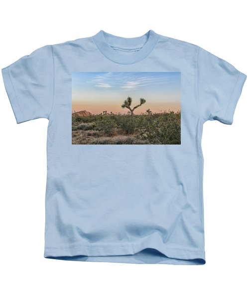Joshua Tree Evening Kids T-Shirt