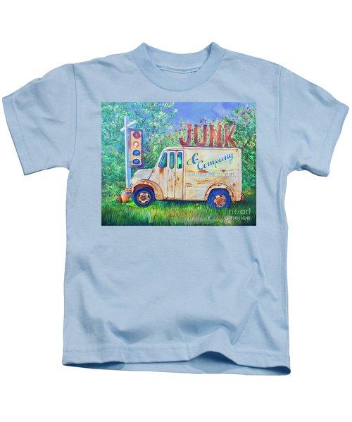 Junk Truck Kids T-Shirt